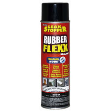 Leak Stopper Rubber Flexx Leak Repair & Sealant Spray 18 Oz | Just Point & Spray