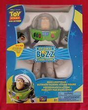 "DISNEY ORIGINAL 12"" TALKING BUZZ LIGHTYEAR-NEW"