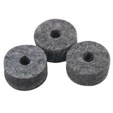 More details for 10 pcs 15mm thickness black felt washers drum cymbal stand replacement