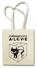 SCHRÖDINGER´S CAT IS ALIVE DEAD I Hipster Shopping Bag - The Big TV Bang Theory