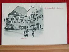 Fotokarte - Gruss aus Hall bei Innsbruck - um 1900 - sehr schöner Zustand !!