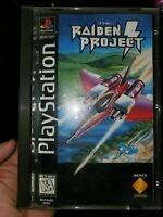Raiden Project (Sony PlayStation 1, 1996) NOT TESTED