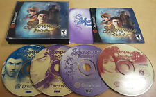 SHENMUE for SEGA DREAMCAST NTSC AMERICAN VERSION COMPLETE