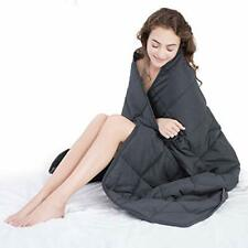 "WUCHT Adult Weighted Blanket (48""x72"", 15 lbs) for Individual Betw 48""x72"" 15lbs"