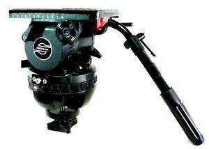 Sachtler 25P P PLUS Head 150mm PAN BAR HANDLE PLATE TIE DOWN KNOB SERVICED 77Lb