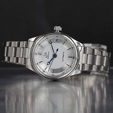Fashion Ladies Women's Automatic Mechanical Wrist Watch Date Silver Stainless