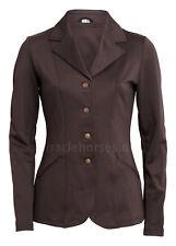 montar® Turnierjacket für Damen Softshell braun elegant - ohne Strass Gr. 40