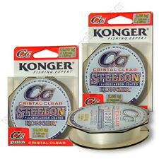 Fishing Fluorocarbon Coated Line 150m Spool Invisible Clear Drop Shot Pike Perch