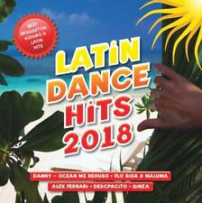 Latin Dance Hits 2018 (NEW CD) Flo Rida, Danny, Alex Ferrari and more