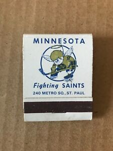 1973-74 Minnesota Fighting Saints Matchbook Schedule: V. Nice!