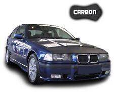 Hood Bra BMW 3 E36 CARBON Front End Car Mask Cover Nose Bonnet Stone protection