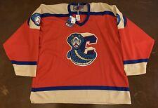 Rare Vintage ECHL CHL SPHL Columbus Cottonmouths Hockey Jersey
