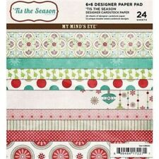 """'TIS THE SEASON - Double-Sided 6""""x6"""" Paper Pack - My Mind's Eye"""