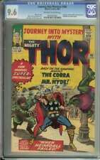 JOURNEY INTO MYSTERY #105 CGC 9.6 OW/WH PAGES // AVENGERS + COBRA APPEARANCE