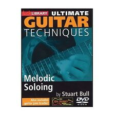 Lick Library Ultimate Guitar Techniques Melodic Soloing DVD RDR0098
