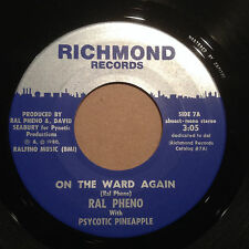 Ral Pheno/Psycotic Pineapple:On The Ward Again, Ralph Eno, Dead Kennedys 45 MINT
