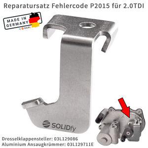 P2015 Fehlercode Reparatursatz für 2.0 TDI Aluminium Ansaugkrümmer 03L129711E