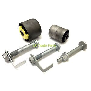 LAND ROVER DISCOVERY 3 REAR UPPER SUSPENSION ARM BUSHES & BOLTS REPAIR KIT (X1)