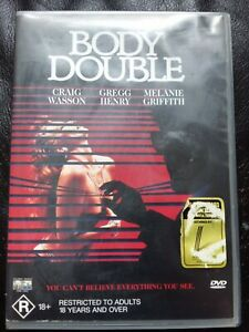 BODY DOUBLE 1984 Melanie Griffith BRIAN DE PALMA GENUINE REGION 4 DVD