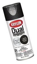 Krylon K08841007 'Dual' Superbond Paint and Primer Hammered Finish, Black, 12...