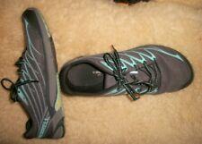 Womens MERRELL Gray Fabric Tie-On Sneaker Shoes--Sz 9.5