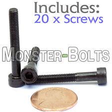 (20) M4 x 30mm - Socket Head Caps Screws 12.9 Alloy Steel DIN 912 Coarse 0.7 4mm