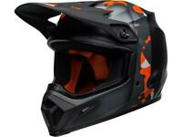 Casque Motocross BELL MX-9 MIPS Presence Noir / Orange Camo
