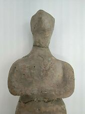 NEOLITIC UNCLEAN BROKEN MALE FULL PATINA UNCLEAN FIGURE. CIRCA*  3000 BC