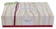 Euphoria by Calvin Klein  2Pces Set 3.4 oz Edt sp+3.4 oz A/S Men  New In Box