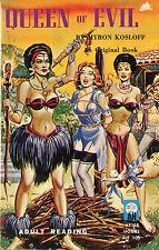 Vintage Sleaze PB Paperback - Queen of Evil - Eric Stanton Lesbian After Hours