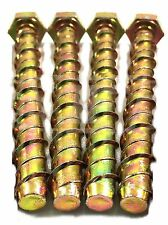 4 * M12 x 100mm GENUINE THUNDERBOLT ® MASONRY CONCRETE ANCHOR SCREW - UK stock