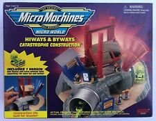 Micro Machines - Catastrophe Construction w/ Bulldozer - MINT IN SEALED BOX !!!