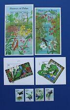 Palau (#670-677) 2002 Flowers set (MNH)