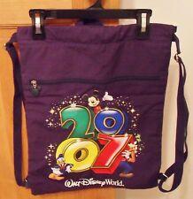 Mickey Mouse & Friends Cinch Sack Tote - Walt Disney World 2007