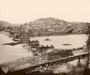 Harpers Ferry WV B&O bridge Civil War 1862 photo CHOICE 5x7 or request digital i