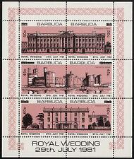 Royalty Sheet Caribbean Stamps