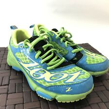 ZOOT TT TRAINER 2.0 WOMEN'S RUNNING SHOES  SIZE 7.5  Green Blue Black Nice