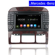 Car Radio DVD for Mercedes Benz S Class GPS Navigation USB Android Audio Player