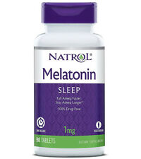Natrol Melatonin TR Time Release 1 mg Dietary Supplements - 90 Tablets