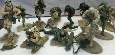 McFarlanes Military 2005 Army Desert Infantry Air Force Navy Figures Lot of 11