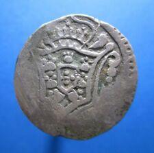 PORTUGUESE INDIA DIU RUPIA 1741 - 1745 RULER JOÃO V SILVER KM 24 #4023#