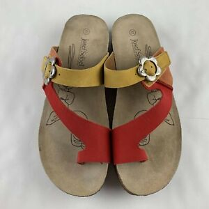 Josef Seibel Tonga 23 Women 41 US 10 - 10.5 Sandal Thong Slide Comfort Shoe