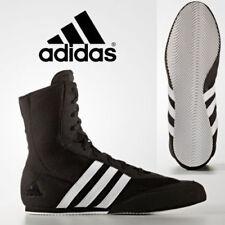 Adidas Caja Hog 2 Botas Zapatos de combate lucha de boxeo negros entrenadores Original
