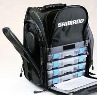 New Shimano Blackmoon Fishing Backpack Medium BLMBP270BK