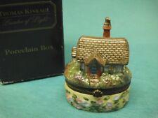 thomas kinkade porcelain box