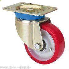 Schwerlastrollen 200 mm Tragfähigkeit 500 kg pro Rolle mit Kugellager
