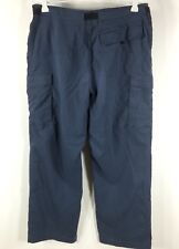 prAna Pants Breathe Belted Cargo Hiking Outdoor Womens Size S Measures 30 x 28
