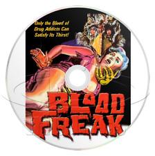 Blood Freak (1972) Horror, Sci-Fi Movie / Film on DVD