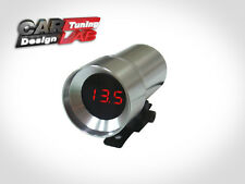 12v CHROME Car/Auto Digital Volt Voltage Meter Voltmeter Gauge RED LED
