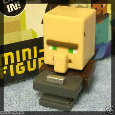 Minecraft Blind Box Figures End Stone Series 6 - BLACKSMITH VILLAGER - NEW- OOP